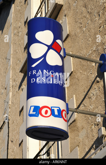 Loto sign, France. - Stock Image