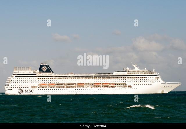 cruise ship liner cruiseliner cruiseliners liners cruiseship cruiseships ocean going sea boat boats large floating - Stock Image