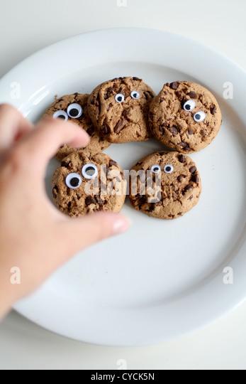 chocolate biscuit,chocolate cookies,cookie - Stock-Bilder