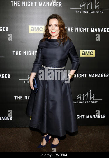 Los Angeles, California, USA. 5th April, 2016. Olivia Coleman at the Los Angeles premiere of AMC's 'The - Stock Image