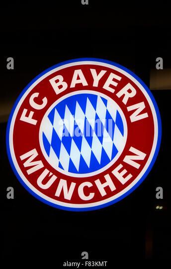 Markennamen: 'FC Bayern Muenchen', Berlin. - Stock-Bilder