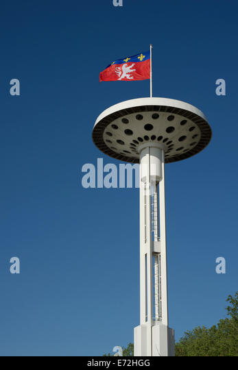Flag of lyon stock photos flag of lyon stock images alamy for Piscine du rhone