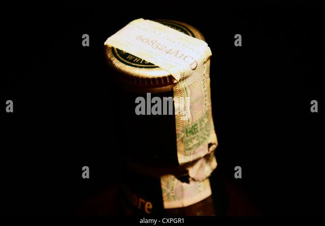 bottle stamps liquor strips revenue the trot
