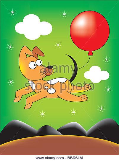 Balloon Journey - Stock-Bilder