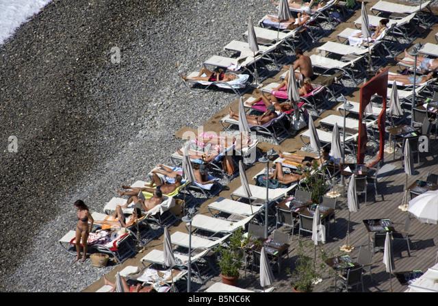 France Nice Promenade des Anglais Castel beach - Stock Image