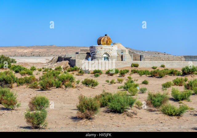 Mountain Vista Water Tank Bell : Iranian farm stock photos images alamy