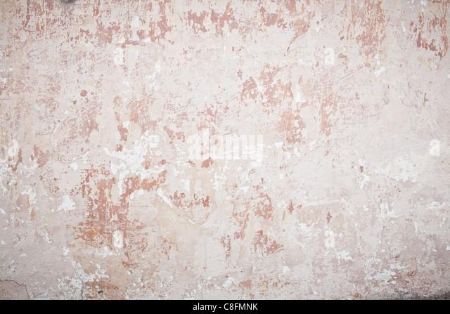 Old damaged wall - Stock Image