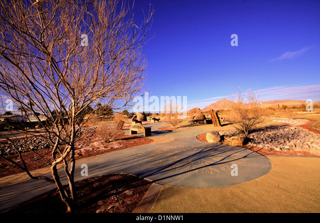 Clark County Wetlands Park, Las Vegas, NV - Stock Image