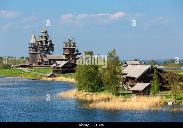 Russia, Kizhi Island - Stock Image
