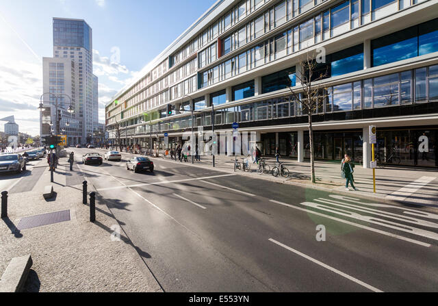 Berlin budapester strasse with the hotel waldorf astoria berlin and