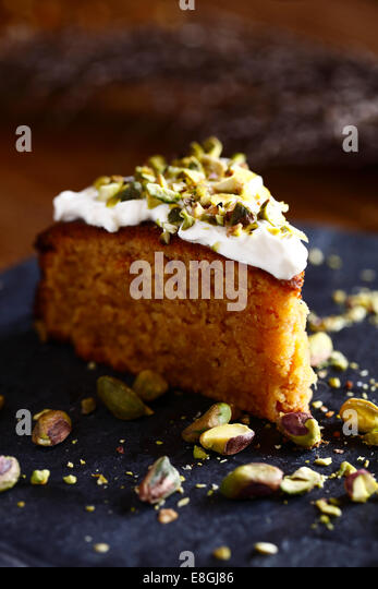 Slice of cake - Stock-Bilder