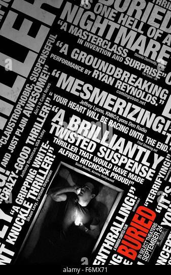 RELEASE DATE: 8 October 2010. TITLE: Buried. STUDIO: Versus Entertainment. PLOT: Paul is a U.S. contractor working - Stock Image
