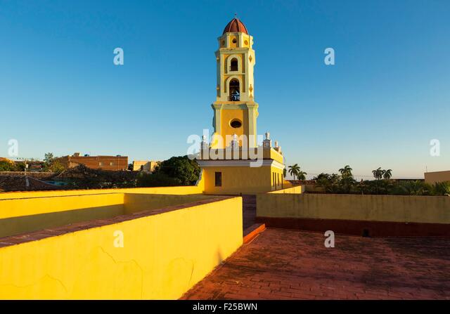 Cuba, Sancti Spiritus Province, Trinidad de Cuba listed as World Heritage by UNESCO, San Francisco de Assis church - Stock Image