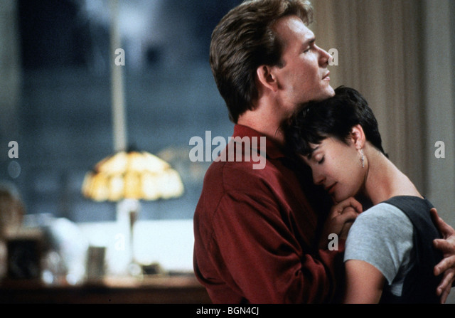 Ghost Year : 1990 Director : Jerry Zucker Patrick Swayze, Demi Moore - Stock Image
