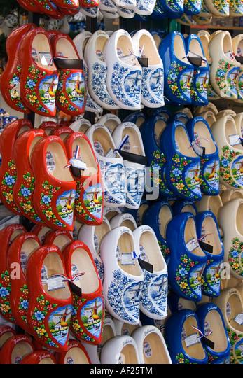 Amsterdam flower market - Stock Image