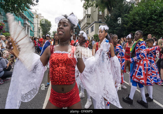 Notting Hill Carnival, London, England - Stock Image