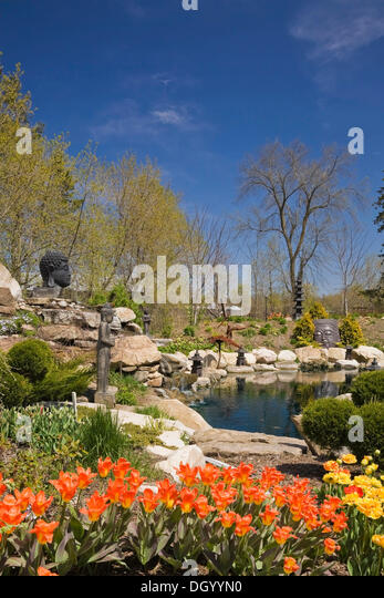 Ornamental pond and garden stock photos ornamental pond for Ornamental pond
