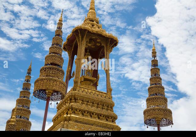Wat Phra Kaew compound, Grand Palace, Bangkok, Thailand - Stock-Bilder