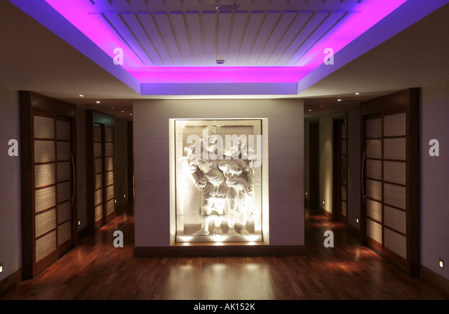 England UK Seaham Seaham Hall Hotel and Serenity Spa Asian theme Feng Shui - Stock Image