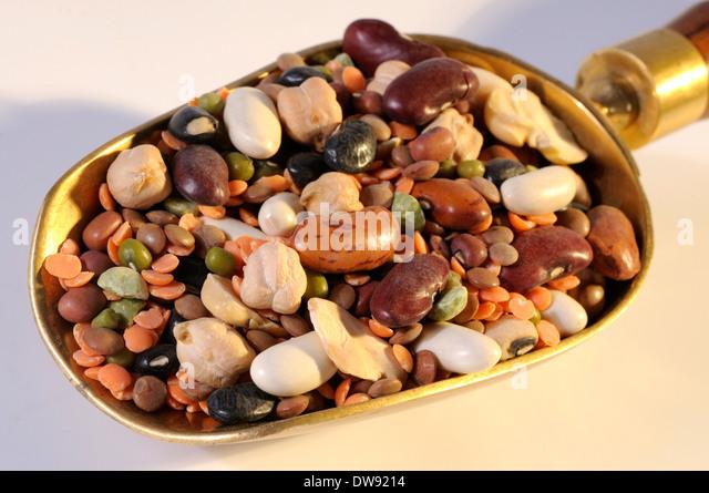 Peas, beans, lentils - Stock Image