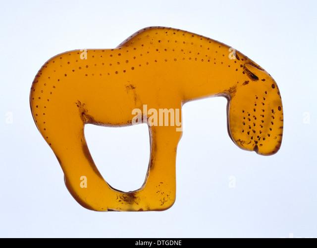 Stone age horse - Stock-Bilder