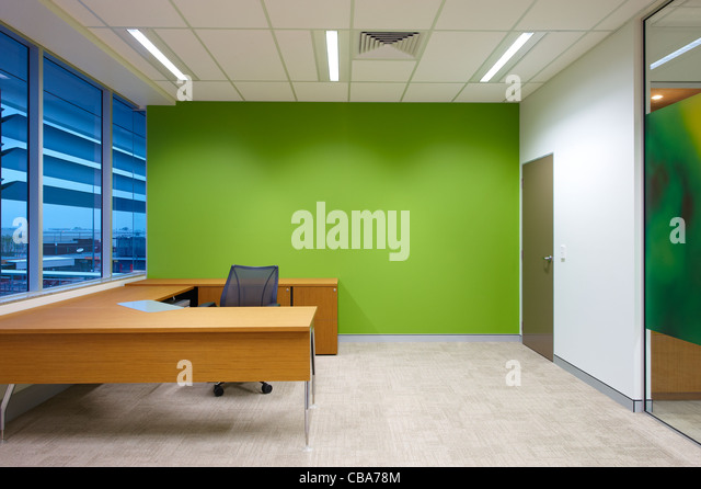 Modern office space - Stock Image