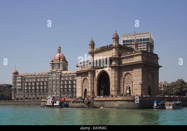 India, South India, Asia, Maharashtra, Mumbai, Bombay, City, Colaba, District, Gateway Of India, South India, Building, - Stock Image