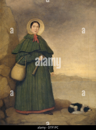 Mary Anning (1799-1847) - Stock Image