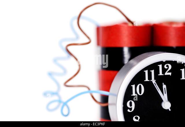 Time bomb - Stock Image