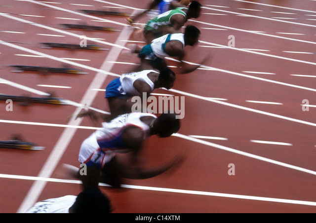 how to run a 100 meter race
