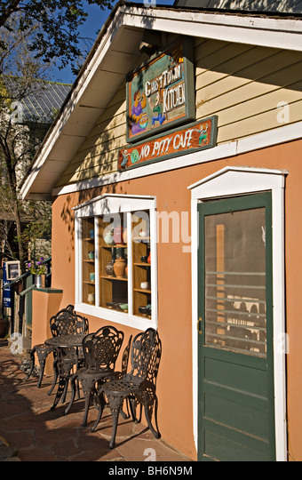 Ghost Town Kitchen, or the No Pity Cafe, in Madrid, New Mexico - Stock Image