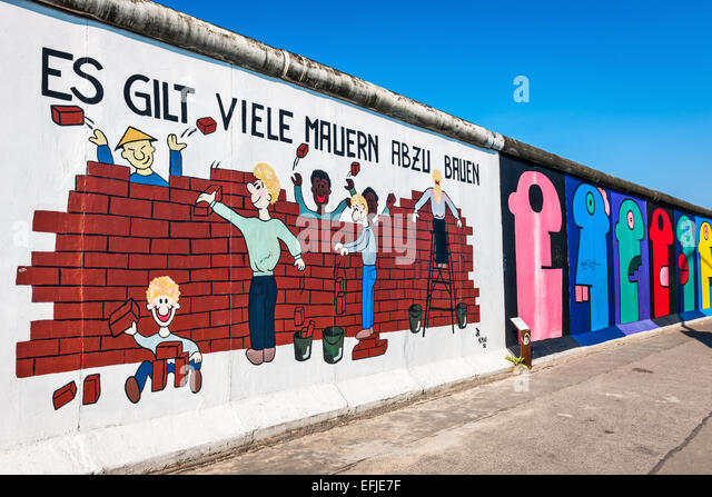 Memoire stock photos memoire stock images alamy for Berlin wall mural