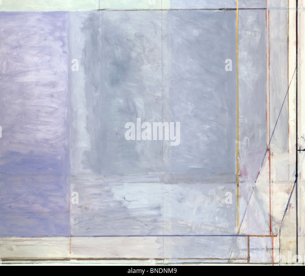 Close-up of an abstract painting - Stock Image