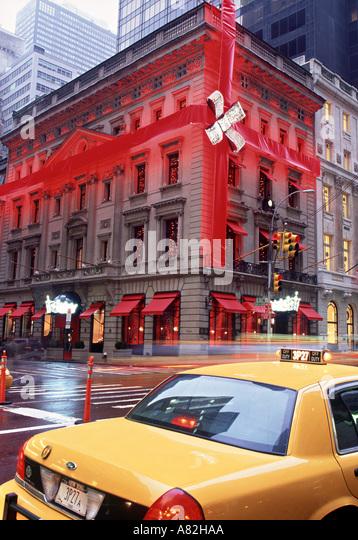 Cartier Building, 5th Ave, New York City, USA - Stock-Bilder