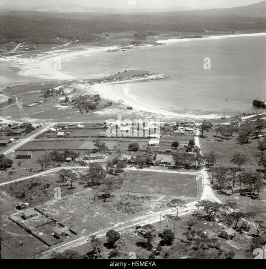 Bermagui looking North - 17 Nov 1937 - Stock Image