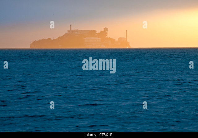 Alcatraz, San Francisco, California, United States of America - Stock Image