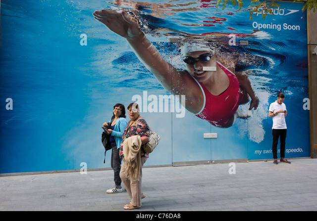 Speedo swim stock photos speedo swim stock images alamy Stratford swimming pool opening times