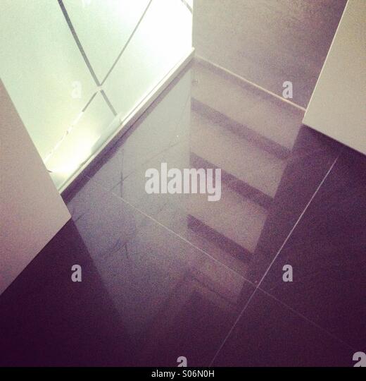 Reflection,light,shadows - Stock Image