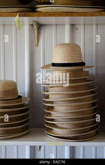 Straw Hat Amish Stock Photos Amp Straw Hat Amish Stock