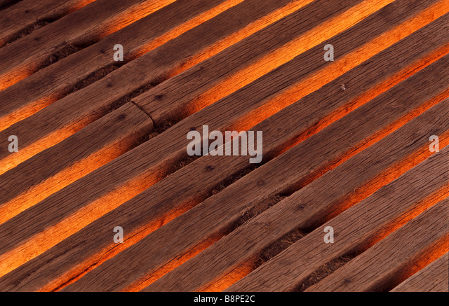 detail wooden planks - Stock Image