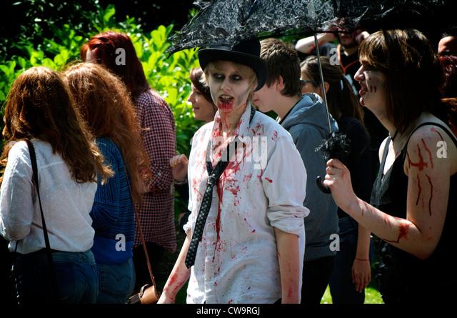 Zombie women - Stock Image