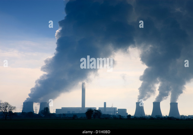 Eggborough Power Station Knottingley North Yorkshire England - Stock Image