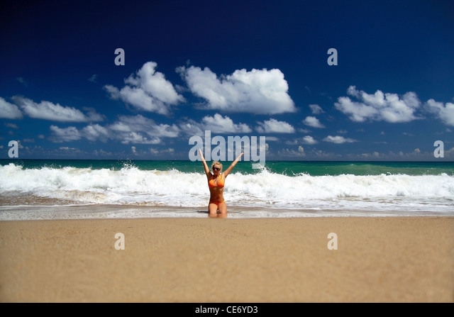 Lady in blue cuba stock photos lady in blue cuba stock for Tropical vacations in december