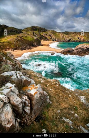 Rosguill Peninsula, Donegal Ireland. - Stock-Bilder