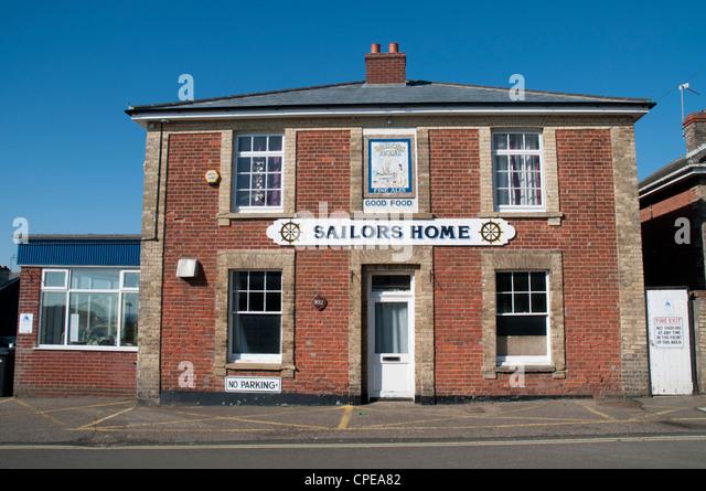 Sailors Home Pub, Kessingland, Suffolk, England - Stock Image