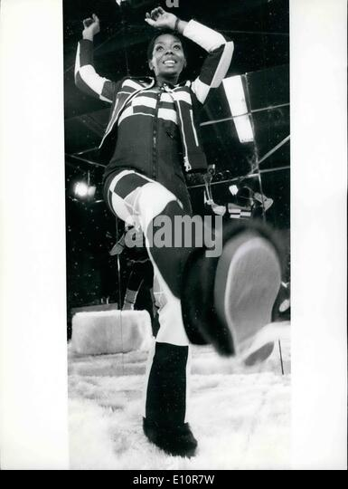 Oct. 10, 1973 - New Ski Fashion Presented In Munich: According to fashion designers vote the female skier will look - Stock Image