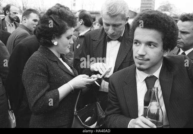 Keith Jarrett, with Charles Lloyd in the Soviet Union - Stock Image