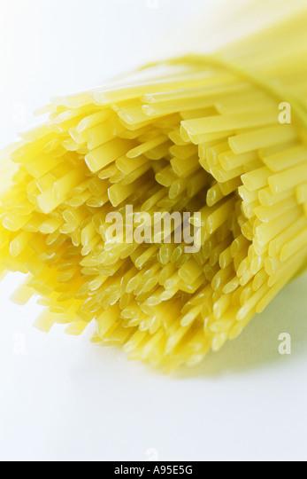 Bundle of linguini - Stock Image