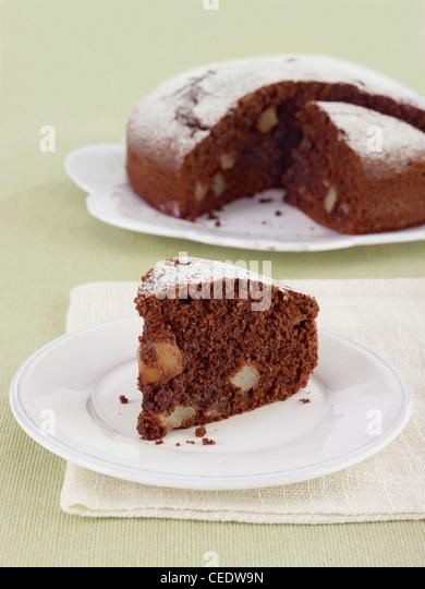 Italian Chocolate Pear Cake