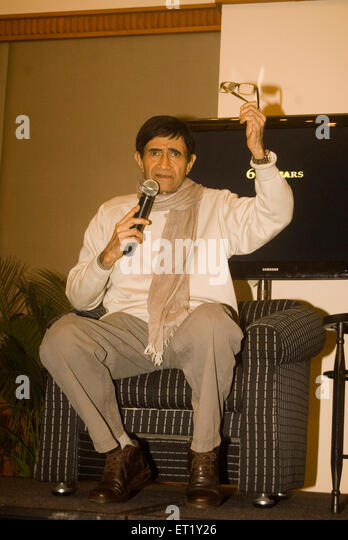 bollywood actor;dev anand - Stock Image